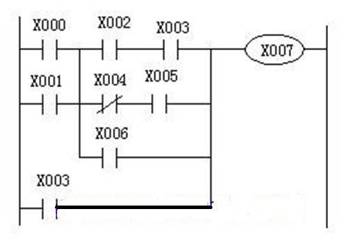 (并联电路块)与前面的电路串联连接时