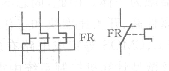 热继电器的动作原理和电器图介绍