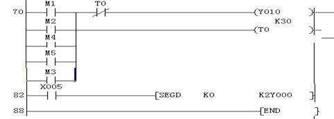 plc与三路抢答器电路原理图