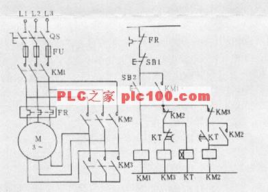 笼型异步电动机的y—Δ降压起动控制(s7-200系列plc)